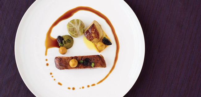 Chewton Glen fine dining dish
