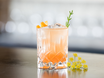 Scallywag Salcombe cocktail