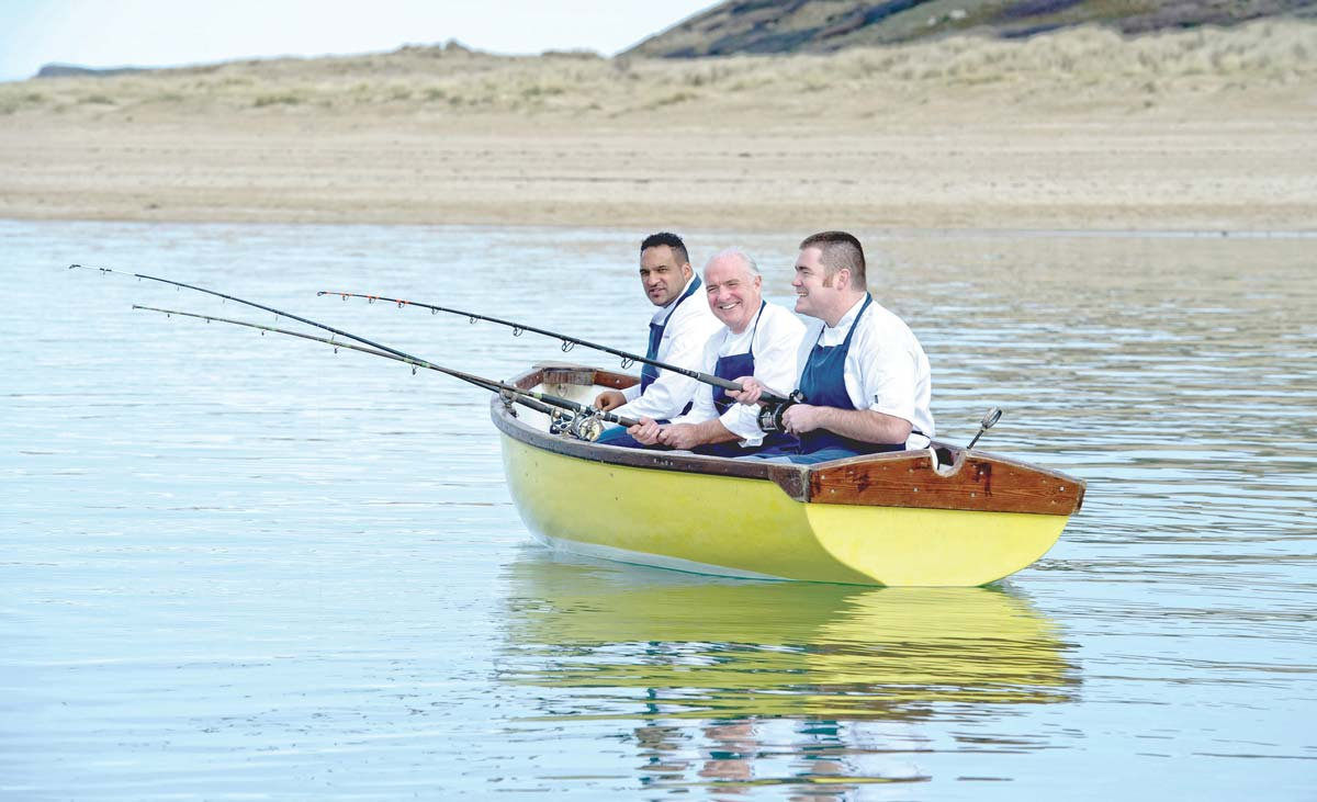 Michael Caines, Rick Stein and Nathan Outlaw