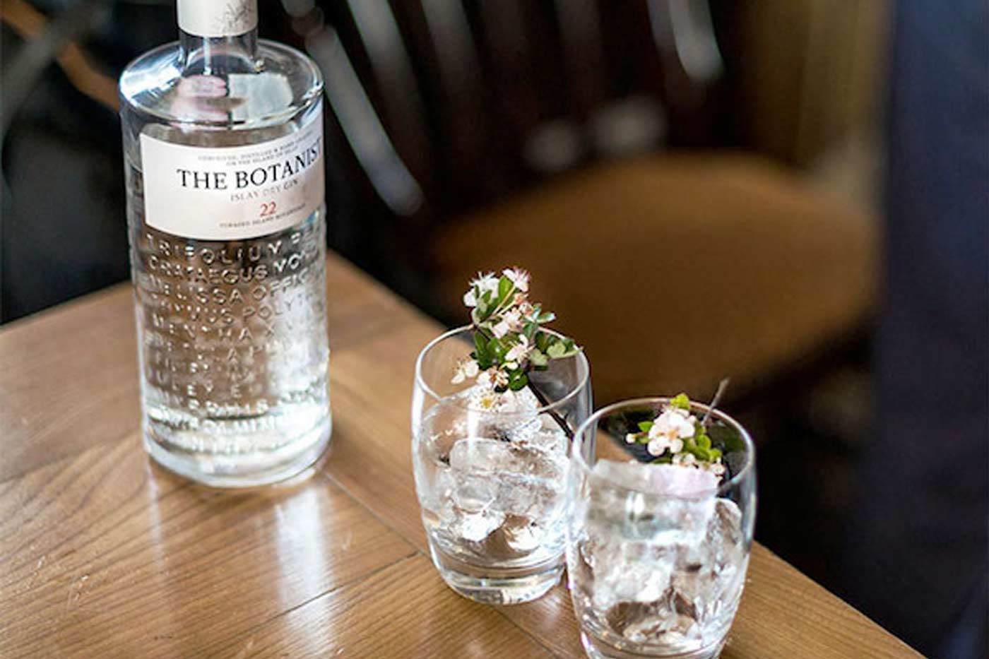 bath priory gin tasting botanist