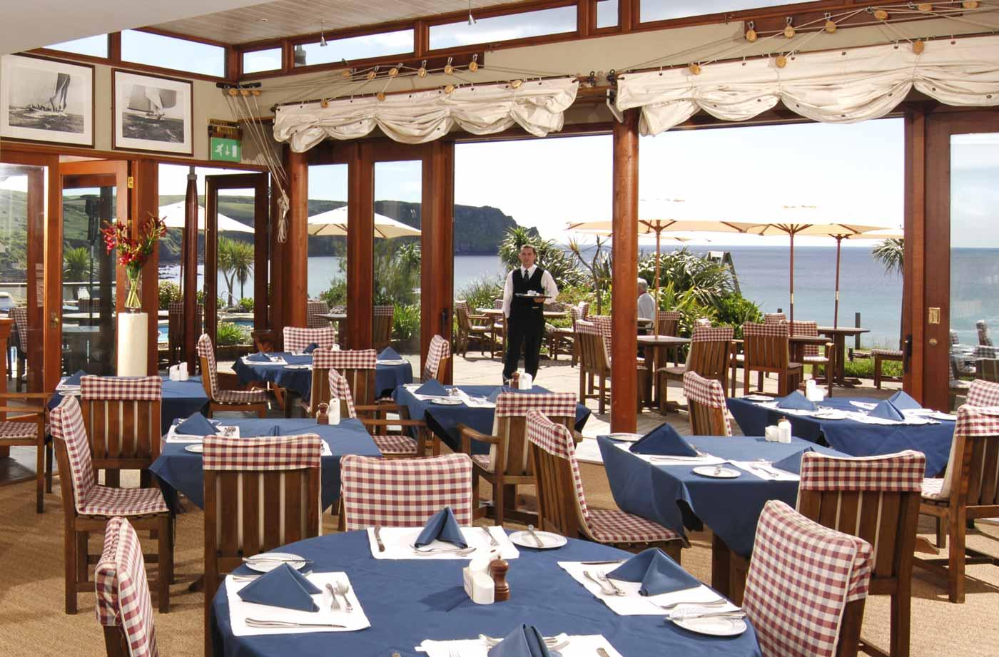 The Nare Hotel, Truro restaurant