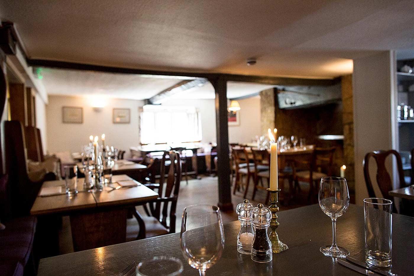 Tytherleigh Arms, Devon, restaurant