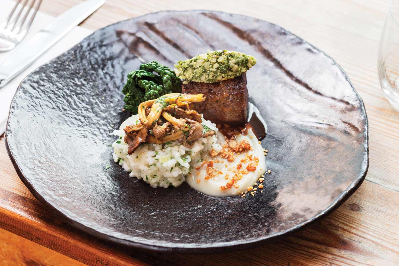 Rock Salt Cafe & Brasserie, Plymouth meal
