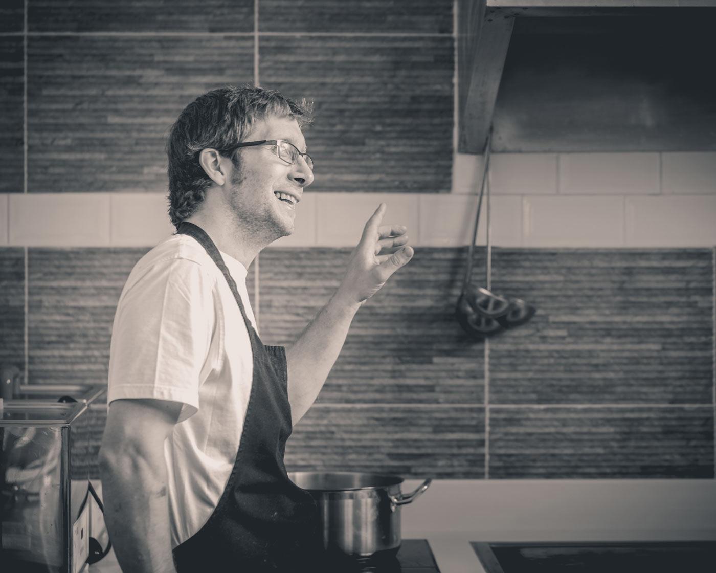 The Shore Restaurant, Penzance chef