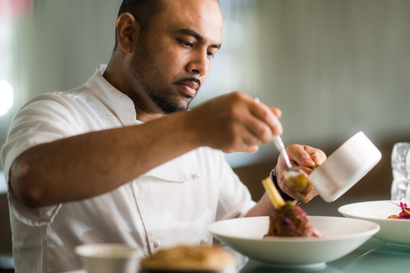 Chef at Mint Room in Bath