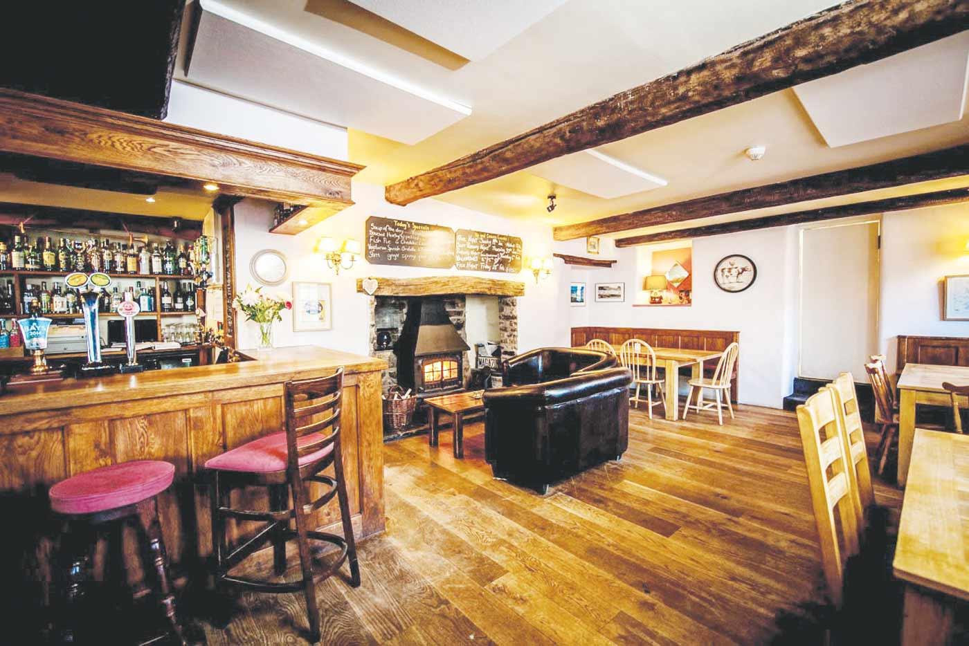 The Swan, Devon restaurant