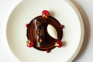 Michelin-starred dining at Lucknam Park
