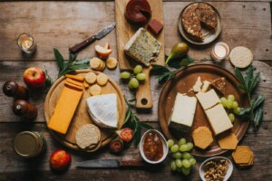 Gourmet food by post, cheese subscription