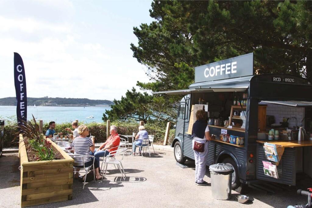 Foodie coffee shops, Bear Cornwall