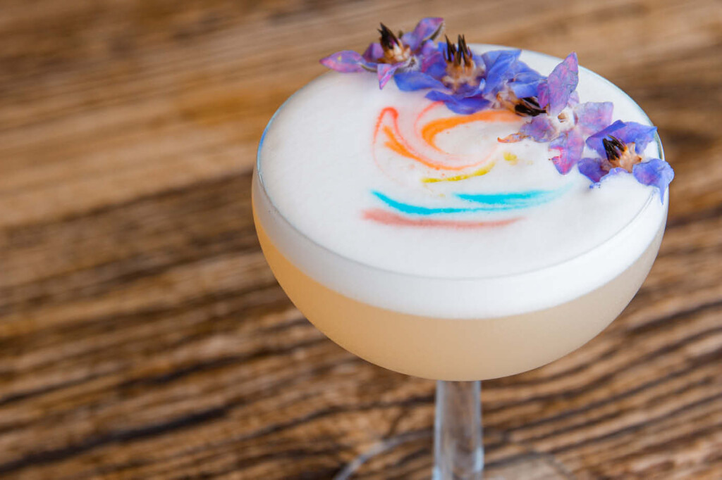 Pride cocktail by The Club House