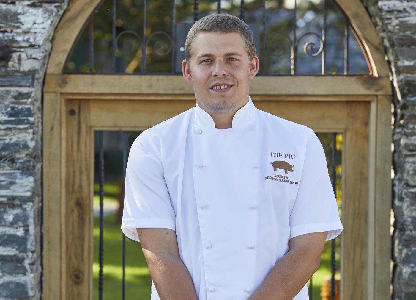 Adam Bristow, head chef of THE PIG