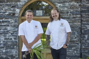 THE PIG chefs, Trencherman's launch
