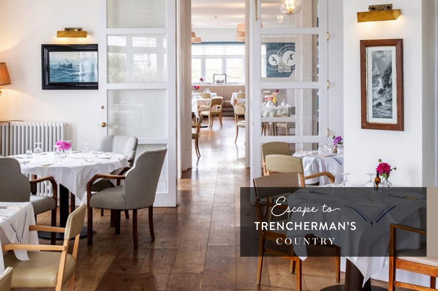 Escape to Trencherman's Country, Seaside Boarding House