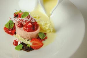 The Salutation Inn, Topsham dessert