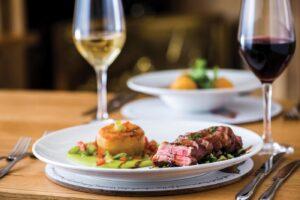Acorn Inn, Dorset dining